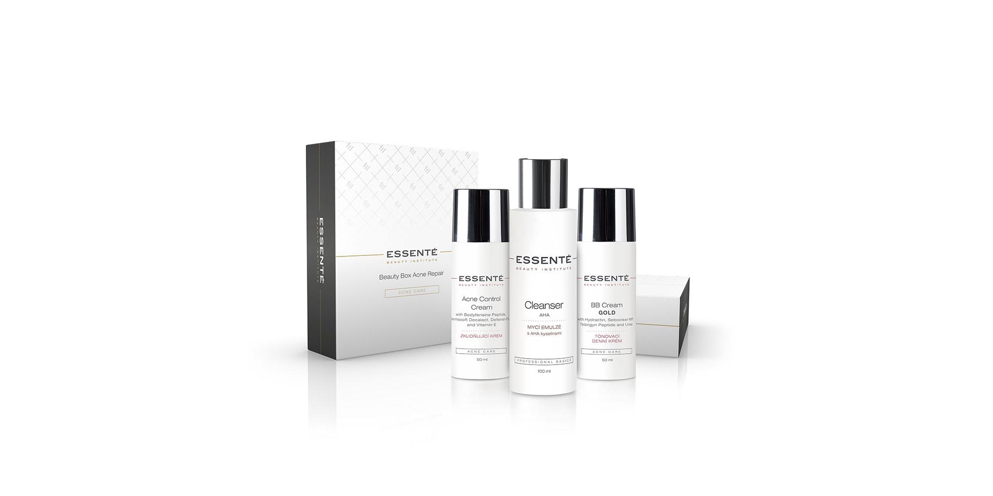 Essenté Beauty Box pro prevenci tvorby akné (Beauty Box Acne Repair)